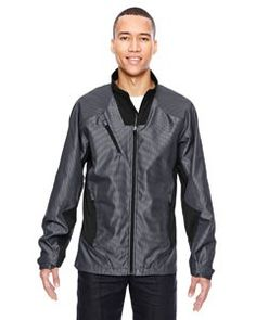 Ash City - North End Sport Red Men's Interactive Aero Two-Tone Lightweight Jacket 88807|B214NS4M3