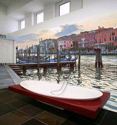 Scenery Mosaic bathroom Tiles. transform your bathroom