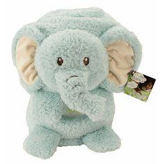 """Animal Adventure My Pet Blankie Grand Stuffed Elephant - Turquoise - Animal Adventure - Toys """"R"""" Us"""