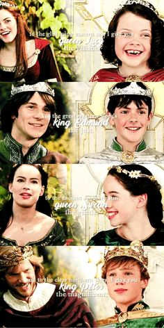 Once a king or queen of Narnia always a king or queen Dreamworks, Movies Showing, Movies And Tv Shows, Aslan Narnia, Edmund Narnia, Narnia Movies, Film Anime, Prince Caspian, Georgie Henley