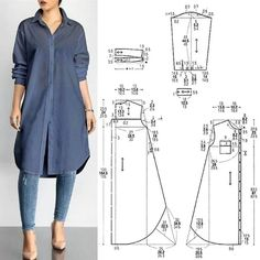 Sewing Clothes Women, Diy Clothes, Clothes For Women, Barbie Clothes, Fashion Sewing, Diy Fashion, Fashion Tips, Winter Fashion, Fashion Quiz