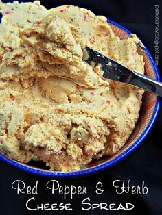 Olla-Podrida: Red Pepper and Herb Cheese Spread