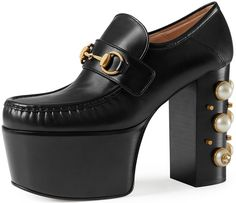 70cd3b0b4bb Gucci  Vegas  Horsebit Platform Loafer