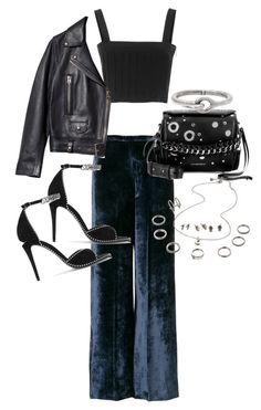 """""""Untitled #22553"""" by florencia95 ❤ liked on Polyvore featuring Forte Forte, Acne Studios, Alexander Wang and Alexander McQueen"""