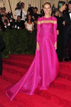 Gwyneth Paltrow en la alfombra roja de la gala MET 2013 en Nueva York