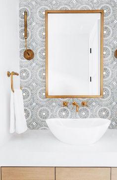 Bathroom Tile Patter