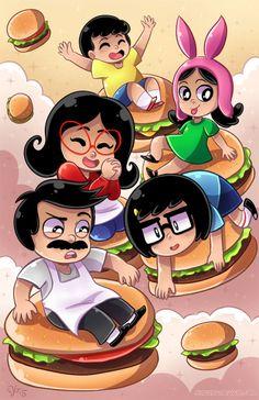 Bob's Burgers fan art