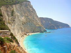 Porto Katsiki Beach - Lefkada by _Dimitris_, via Flickr