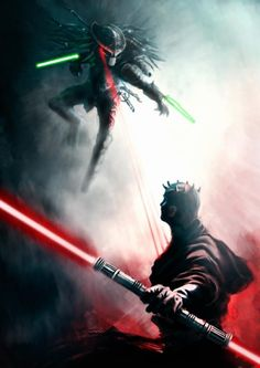 Star Wars-What if-  by Caam in Illustrations.