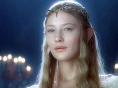 "Enlarge Image Cate Blanchett as Galadriel in ""The Hobbit"" film series. New Line Cinema A poem by J. Tolkien that's been out of print since the year World. Fellowship Of The Ring, Lord Of The Rings, Hobbit Films, Lotr Elves, Cate Blanchett, Cosplay, Middle Earth, Fantasy Characters, The Hobbit"