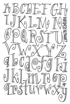 Handlettering on Behance Hand Lettering Alphabet, Doodle Lettering, Creative Lettering, Lettering Styles, Calligraphy Letters, Brush Lettering, Doodle Alphabet, Fancy Fonts Alphabet, Typography Fonts
