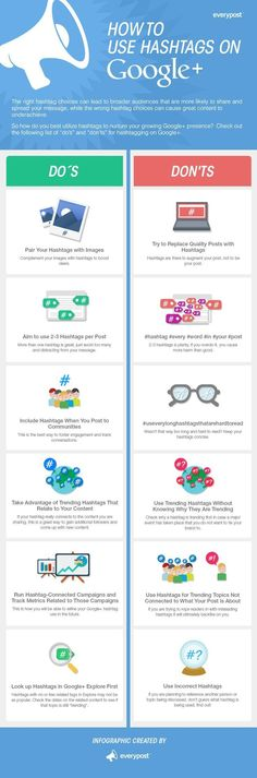 Great overview: How to use Hashtags on Google+   #GooglePlus #socialMedia #infographic  www.november.media