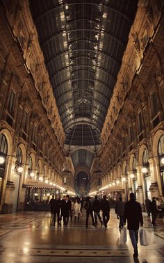 Milan Shopping Center... A mall like no other! It was awesome!   July 2007 <3