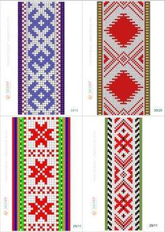 схемы ручного ткачества