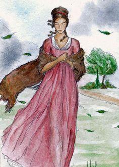 Sentido y sensibilidad impresión de arte.  Jane Austen.