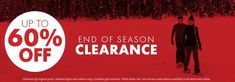 Up to off Ends of Season Clearance