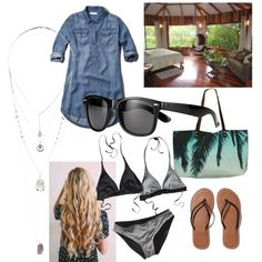 Permanent Vacation by lenbb on Polyvore featuring polyvore fashion style Abercrombie & Fitch Patagonia Samudra Miss Selfridge John Lewis