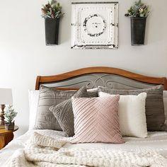 Repose gray in bedroom