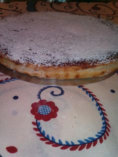 tarte de feijão e coco