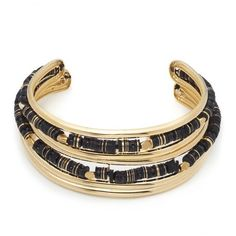 Alexis Bittar Liquid Gold Masai Two Part Collar With Custom Sequin... ($1,495) ❤ liked on Polyvore featuring jewelry, necklaces, gold, black gold jewelry, collar necklace, black and gold choker, alexis bittar necklace and black and gold jewelry