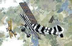 Fokker D.VII Bruno Loerzer, Jasta 26, by Taras Shtyk