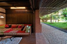Dream country home in India: Brick Klin House