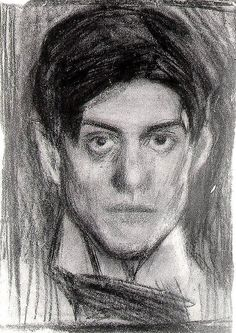 """Self-Portrait"", 1900, Pablo Picasso."