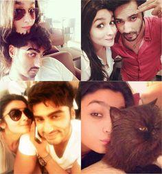 Alia bhatt arjun kapoor varun dhawan selfie pics instagram