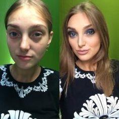 Imagens de mulheres antes e depois da maquiagem - tá curioso as curiosidades mais interessantes da internet