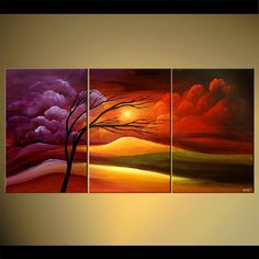 """Fields of Promise - Poster on Photographic Paper 60""""x30"""" - Art by Osnat"""
