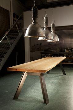 large oak table  by Haijtema Lajic