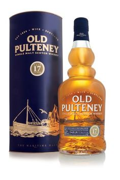 Old Pulteney 17 Year Old Single Malt Scotch Whisky Good Whiskey, Scotch Whiskey, Wine And Liquor, Wine And Beer, Whisky Store, Highland Whisky, Peach Drinks, Whisky Tasting, Whiskey Cocktails
