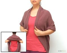 Infinity Scarf: How to Wear an Infinity Scarf - Long version.
