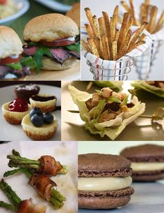 french finger food for parties | Indulge In {Hand Helds}