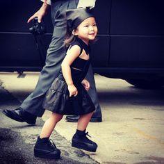 Aila Wang (アイラ・ワン)★世界最年少?3歳のスーパーファッショニスタ の画像 海外ストリートスナップ、ファッションスナップ - Snapmee(スナップミー)