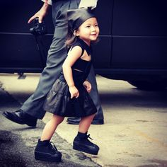Aila Wang (アイラ・ワン)★世界最年少?3歳のスーパーファッショニスタ の画像|海外ストリートスナップ、ファッションスナップ - Snapmee(スナップミー)