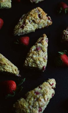 Easy, delicious strawberry scones from @ChefBillyParisi. Perfect for breakfast or brunch.