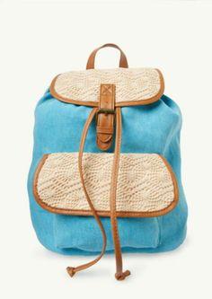 Crochet Panel Backpack | Backpacks | rue21