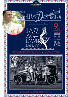 Jazz Age Lawn Party 2014 Governor's Island  June 14-15 and August 16-17 Hats, hats, and more hats!