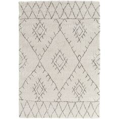 Soft underfoot. Our Halette Rug offers plush padding for your bare feet, and adds an organic and neutral feel to a space; perfect for a cozy bedroom.