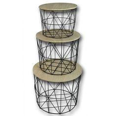 design drahtkörbe tisch details zu design couchtisch sofatisch beistelltisch