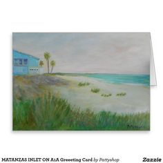 MATANZAS INLET ON A1A Greeeting Card