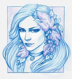 Yennefer by Anastasia Kulakovskaya (Witcher)
