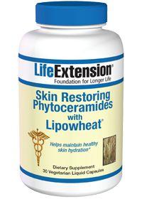 Skin Restoring Phytoceramides With Lipowheat by Life Extension - Buy Skin Restoring Phytoceramides With Lipowheat (350 MG) 30 Vegetarian Cap...