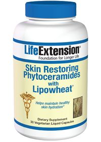 Skin Restoring Phytoceramides With Lipowheat by Life Extension - Buy Skin Restoring Phytoceramides With Lipowheat (350 MG) 30 Vegetarian Cap...