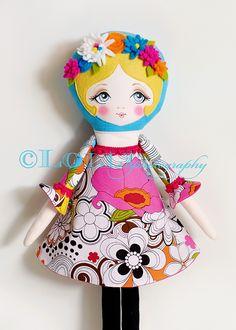 Poppy Cloth Doll Pattern