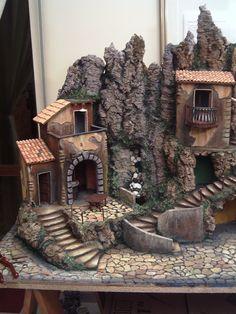 Foto tratte dal web - molte rappresentano presepi classici napoletani. Dalla n.1115 mie foto presepe Caranas- Clicca su per ingrandire l'immagine