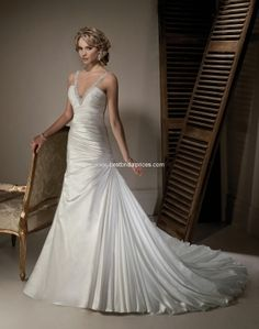 Maggi sottero Miami wedding dress.