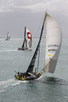 March 18, 2015. Leg 5 Start from Auckalnd to Itajai; Team Brunel - Ainhoa Sanchez / Volvo Ocean Race