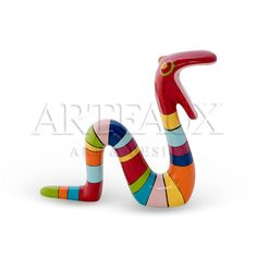 Niloc Pagen Moving Snake Rainbow colors. Available in 3 sizes